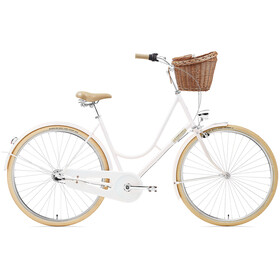 Creme Holymoly Solo Stadsfiets Dames roze/wit